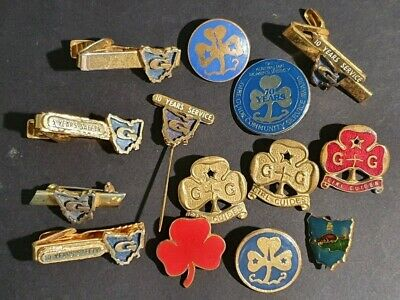 GIRL GUIDES - A variety of BADGES, PINS & TIE CLIPS