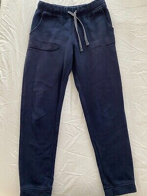 Girl's Navy Track Pants - Size 9 - Great Condition!
