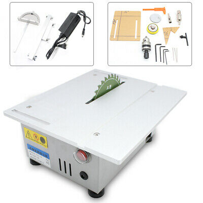 T5 Mini Precision Table Bench Saw Blade DIY Woodworking Cutting Home Machine US