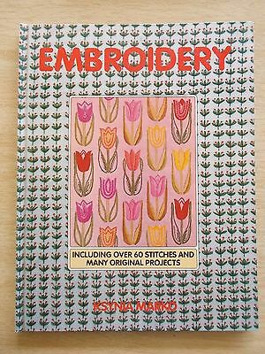 Embroidery~Ksynia Marko~60+ Stitches~Projects~80pp H/B~1987