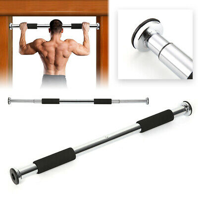 Home Exercise Workout Training Gym Bar Chin Up Size Adjustable Fitness Pull