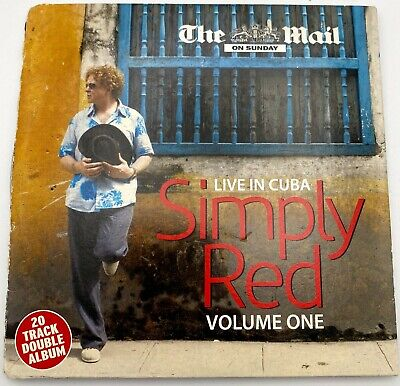 Simply Red Live in Cuba Volume 1 10 track CD ( Sunday Mail Promo)
