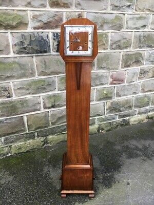 Antique Walnut Granddaughter Clock