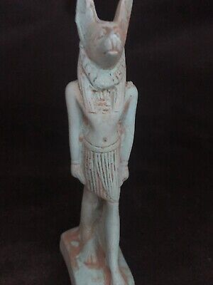 Rare Ancient Egyptian Anubis Statue(c.3100-c.2890 BC)