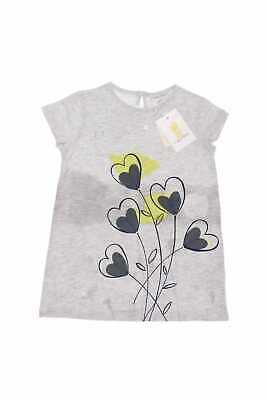 Fagottino T-Shirt mit Applikationen mit Keyhole D 98 Grau-Töne LOVE ME Top