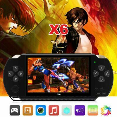 8GB Handheld PSP Game Console Player Built-in Games 4.3'' Portable Consoles GIFT