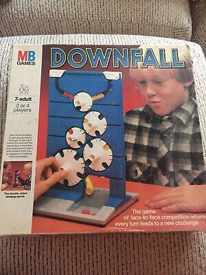 Downfall Game By MB Games Classic Vintage Game All Complete