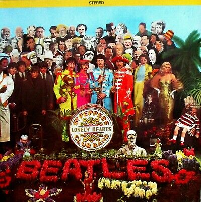THE BEATLES +Sgt.Peppers Lonely Hearts Club+LP+CAPITOL+1978 Canada edition+GF+