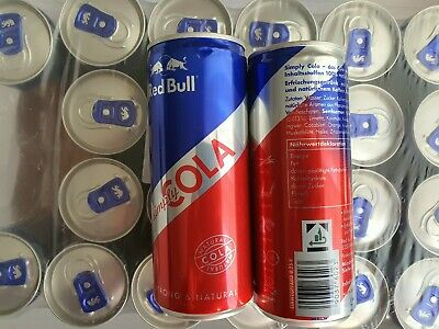 24x 250ml Dosen MHD Red Bull Energy Drink Cola natural zzgl.6€ DPD Pfand