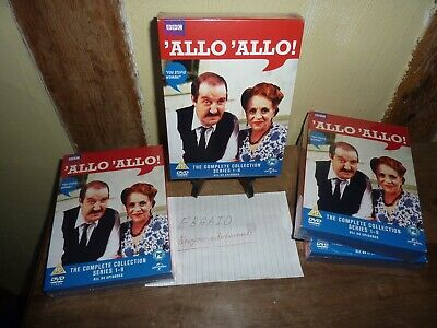 'Allo 'Allo'The Complete Collection Series 1-9 DVD Brand New Sealed