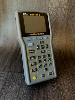 IDEAL LANTEK 6 LAN Cable Tester Certifier LANTEK Main Unit Only