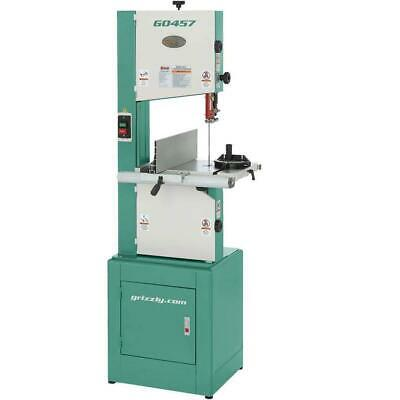 Grizzly G0457 110V/220V 14 Inch 2 HP Deluxe Bandsaw