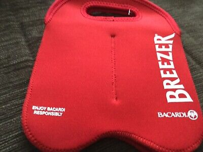 BACARDI BREEZER 4 can carry bag NWOT surplus to need