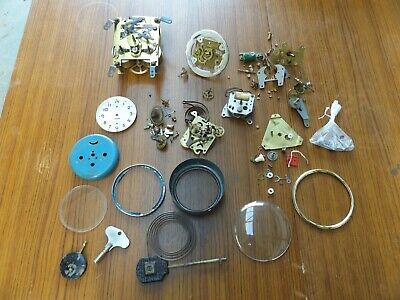 old vintage clock parts job lot barn find