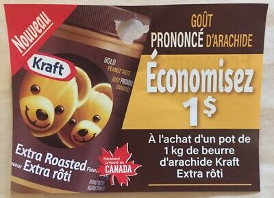 Lot of 20 x 1.00$ Kraft Products Coupons Canada