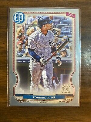 Gleyber Torres 2020 Topps Gypsy Queen SILVER PARALLEL #100 Yankees