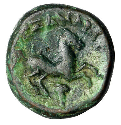 "ANIMAL Alexander III The Great Greek Coin ""Horse Running"" HIGH QUALITY Certified"