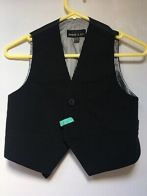 Indie And Co Boys Vest Suit Top Size 2