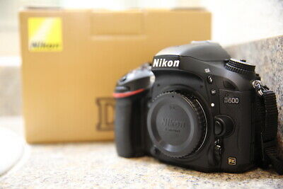 Nikon D600 24.3MP Digital SLR Camera (Body Only) LOW SHUTTER COUNT