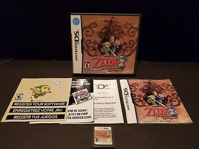 The Legend of Zelda: Phantom Hourglass (DS, 2007) TESTED WORKS