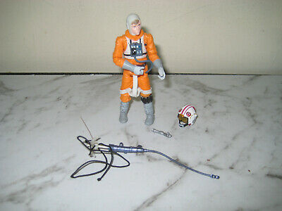 Star Wars The Legacy Collection -Luke Skywalker 2009 Figure With Access Used