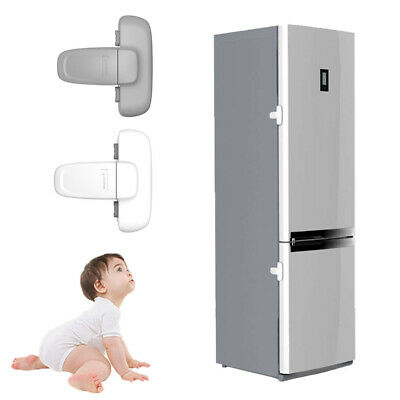 Useful Guard Refrigerator Door Latch Baby Safety Child Lock Strong-Adhesive Tape