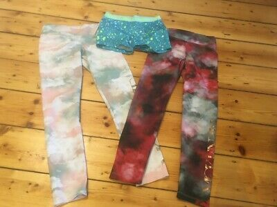 Girls leggings; size 12,'Mckenzie' and Underarmour shorts