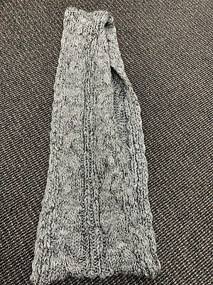 New The Children's Place Girls Grey Sparkle Infinity Knit Snood