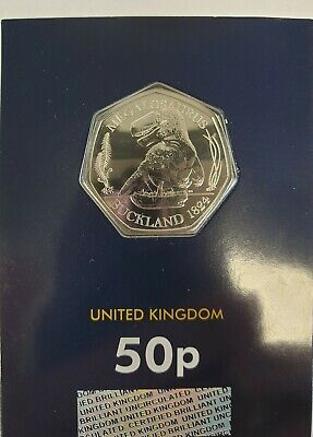 ***2020 Megalosaurus Dinosaur 50p Fifty Pence Coin Brilliant Uncirculated***