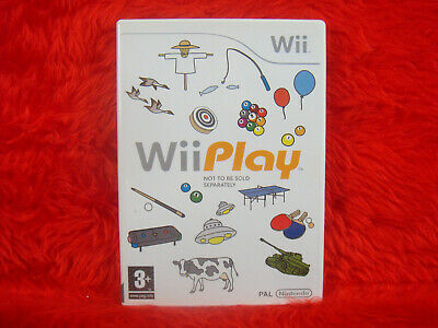 wii PLAY 9 GAMES IN 1 Family Multiplayer Fun PAL