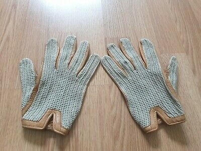 Nens Vintage Dent Fownes Leather Driving Gloves Size 9.5