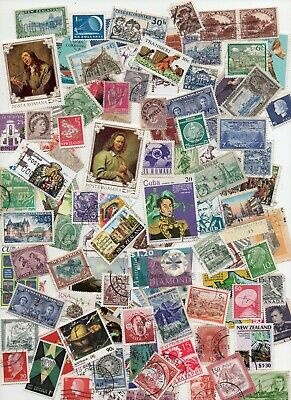 ALL WORLD MIXTURE 1000 Stamps- All Different - Off Paper ( lot 141)
