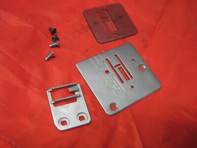Janome New Home Jf 1004 Sewing Machine Parts Needle Plate Feed Dog Darning