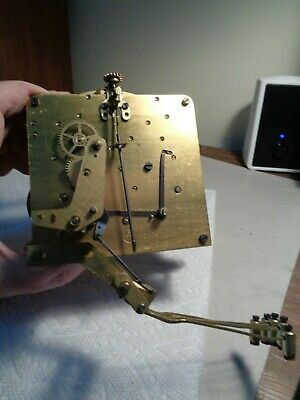 Antique-Seth Thomas-Westminster Chime-Clock Movement-Mod.#124-To Restore-#K570