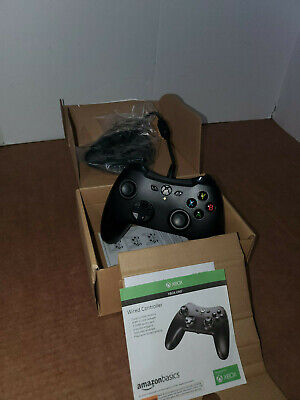 Xbox One Wired Controller Black amazon basics Version 2 GREAT QUALITY CONTROLLER