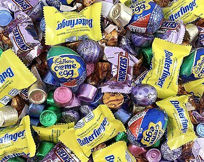 Easter Candy Assortment Cadbury Egg, Rolo, Snickers, Dove, Butterfingers - 3Lbs