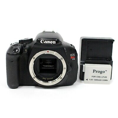 29040 SHUTTER | Canon EOS Rebel T3i 18MP DSLR Camera Body Only | DAMAGED - POOR