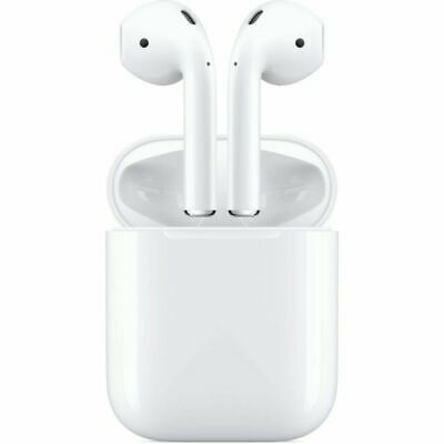 Genuine Apple Airpods W/ Charging Case White 2nd Generation MV7N2AM/A
