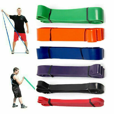 Exercise Bands Latex Resistance elastic Band -Pull Up Assist Bands Gym Fitness L