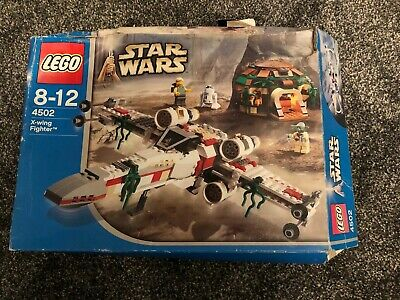 Lego Star Wars 4502 X-Wing Fighter & Yoda's Hut Complete