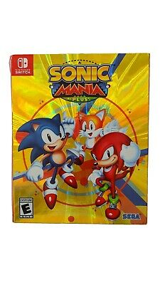 Sonic Mania Plus (Nintendo Switch, 2017)