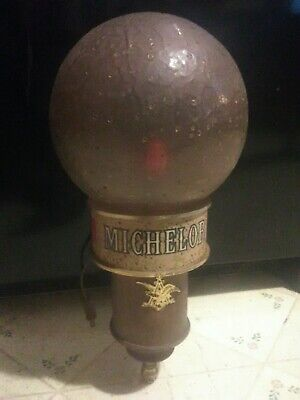 Vintage 70's Michelob beer wall light