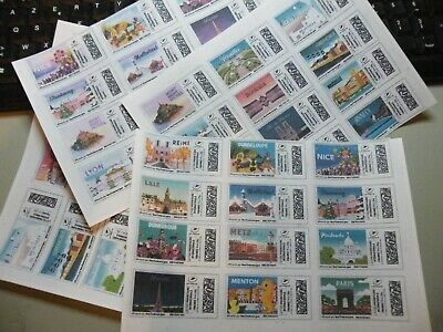lot de 48 timbres 20 grs lettre prioritaire internationale. validitée permanente