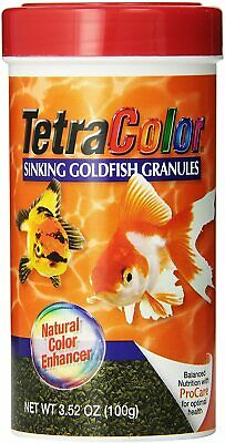 Tetra Tetracolor Couleur Coulantes Granules 104ml Poisson Food Procare Naturel