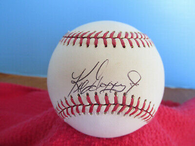 KENB GRIFFEY JR.   Autographed/Signed American League Baseball  Mariners