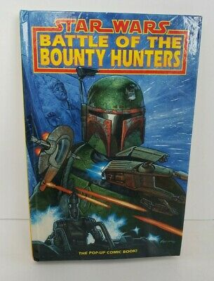 Star Wars Battle of the Bounty Hunters Pop Up book 1st Ed 1996