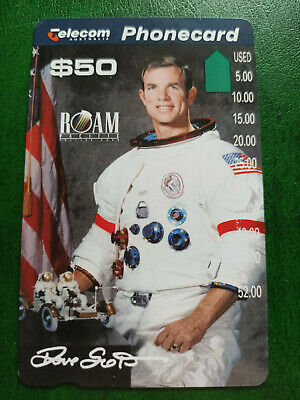$50 Apollo 15 - David Scott Phonecard Prefix 633