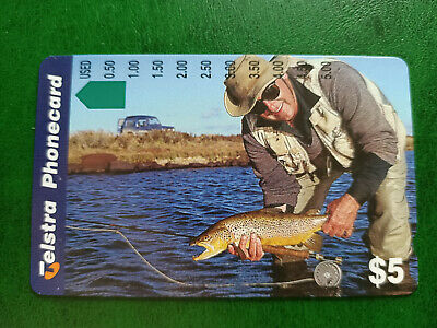 $5 Fishing In A River Phonecard Prefix 1437