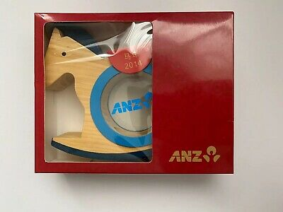 ANZ 2014 Year of the Horse Money Box Chinese New Year Piggy Bank Collectable
