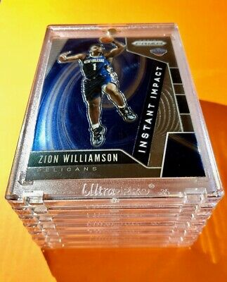 Zion Williamson PANINI PRIZM HOT ROOKIE 2019-20 INSTANT IMPACT RC #2 Mint